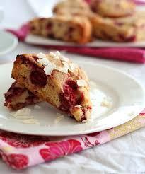 coconut raspberry scones